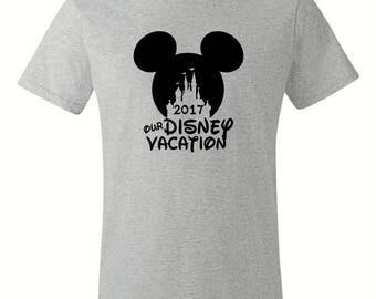 Men's Family Vacation Custom T Shirt