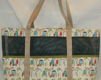 Paradise Mesh Tote Bag
