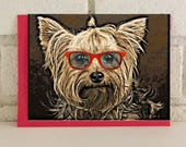 Yorkshire Terrier Yorkie Fun All Occasion Card