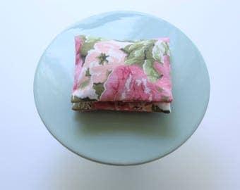 Lavender Floral Cotton Sachet