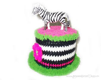 toilet paper cover little Zebra