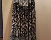 IRATI Indian gauze long skirt