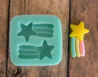 Flexible Mold- Shooting Star