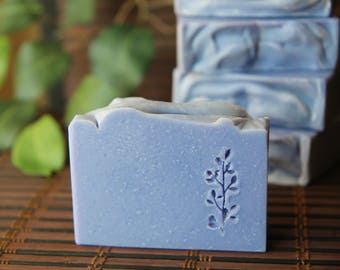 Lavender Clay Handmade Cold Process Soap