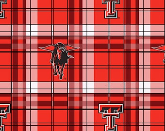 Texas Tech Quilt Etsy