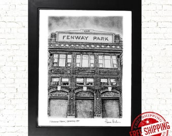 Fenway Park  Boston Red sox art print