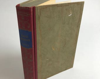 Antique Children's Book - Hans Brinker: Or, The Silver Skates by Mary Maples Dodge - 1924 - Illustrated