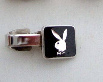 Playboy Bunny Tie Clip Collectible Memorabilia Father's Day Gift Fierce Gift For Men Hot Gift Cool Gift for Husband Great Gift for Dad