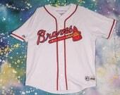 Atlanta BRAVES Sports Baseball Jersey Size XXL