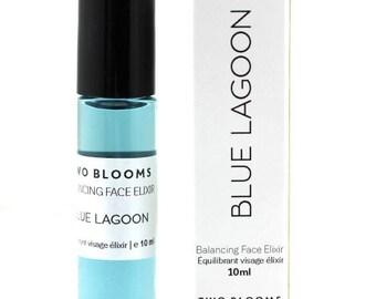 Organic Blue Tansy face elixir - Blue lagoon face serum -  Face Victoria BC Vancouver Island Canada