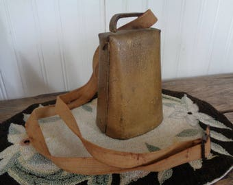 Vintage Antique Cow Bell