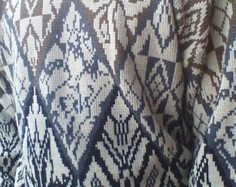 Vintage 80s mens Gitano geometric sweater size xl free doemstic shipping grunge fashion