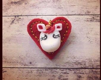 broche unicorn lover saint valentin