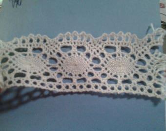 COUPON lace bobbin color Ecru old REF. 11.j