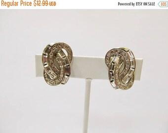 ON SALE CAROLEE Sparkling Rhinestone Earrings Item K # 2652