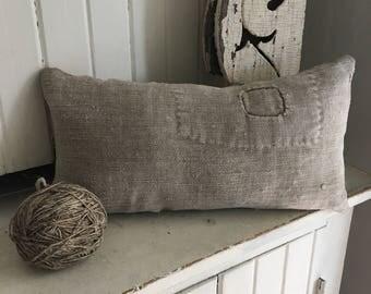 Primitive Grainsack Pillow w/ Patch