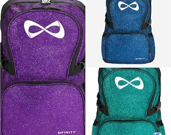 Beautiful sparkle nfinity backpack
