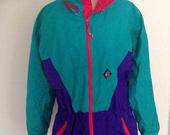 Vintage Woolrich Neon Ski Jacket