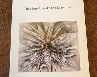 Art Book, Theodore Roszak: The Drawings, 1992, The Drawings Society, Art Exhibition