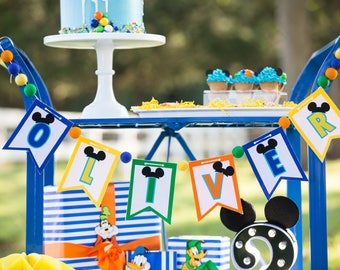 HAPPY BIRTHDAY BANNER . Oh twodles . I am one Banner . 1st birthday boy . I am 1 Highchair Banner . 2nd birthday boy . First birthday banner