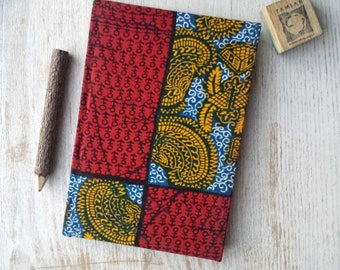 2017-2018 A5 academic midyear planner diary calendar agenda A5 weekly Unique Bespoke Customised hardback cover African print