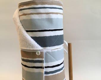 Cloth Paper Towel, Kitchen Towel Roll, Fabric Paper Towel, Unpaper Towels, Earth Friendly, Reusable Paper Towels, zero waste, Snapping Towel