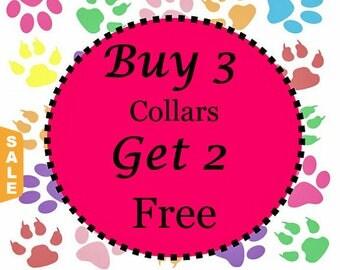Puppy Love Sale - 40% Off Buy 3 Standard Collars - Get Two Free Standard Collars