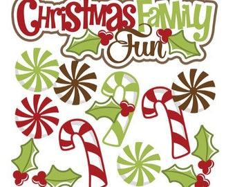 Christmas scrapbook embellishment, Christmas die cuts, Christmas Scrapbook, scrapbook embellishments, Christmas paper piecings