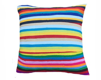 Handmade Colorful African Cushion Cover