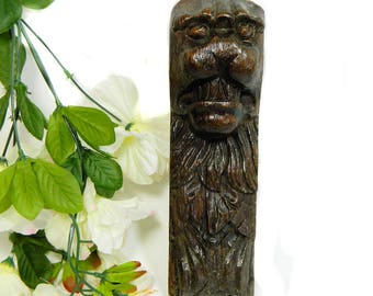 18th Century Carved Oak Lion Corbel Architectural