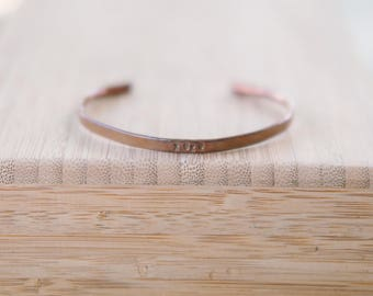 Small Copper Cuff