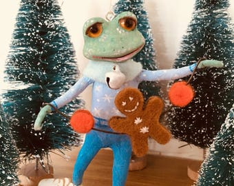 Tiny Tim, Cupcakebears, kerstboom decoratie, Collector's item, handgemaakte