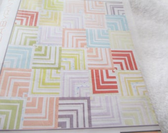 """Paper Pattern for a quilt called Retro Labyrinth by Zen Chic for Moda 60"""" square"""
