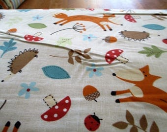 Quilting Weight Cotton Fabric by Northcott Fox and Friends 1 yard