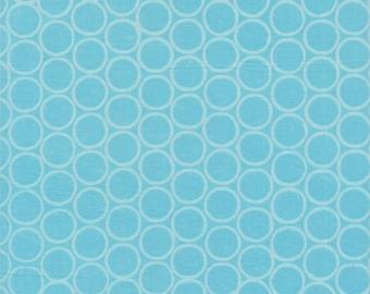Modern Batiks, Studio E Fabrics, Circles in Blue