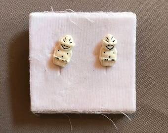 Plastic Earrings Screw Back