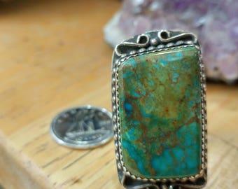Royston Turquoise ring  size 7