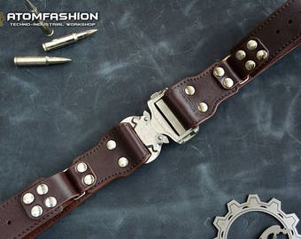 Protector leather belt