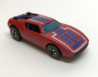 Vintage Original 1969 Hot Wheels Redline Warpath Wisconsin Toy Co. Hong Kong