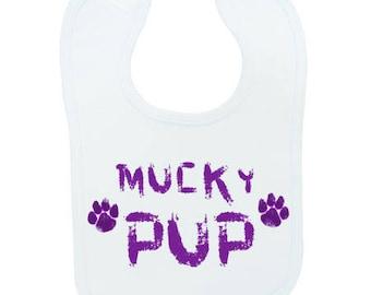 Mucky Pup Bib