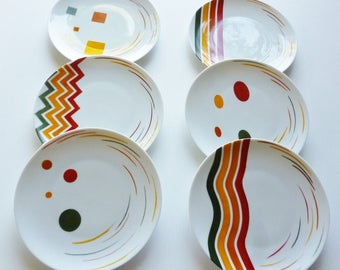 """Dessert plates """"Indian summer"""""""