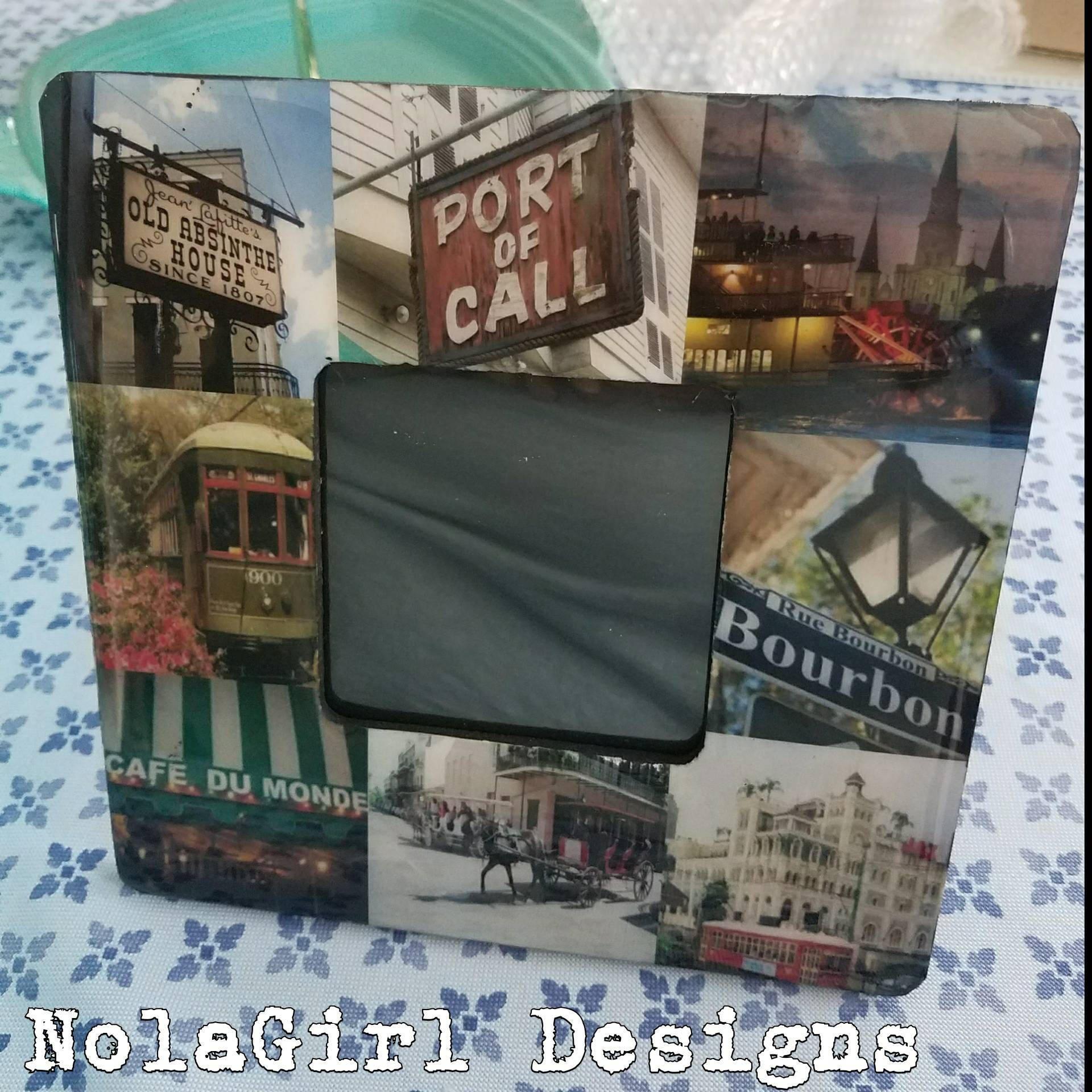 New Orleans, Custom Design Frames, Home Decor, Custom