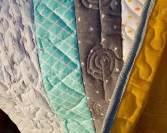 Swirl s th itch quilt-small