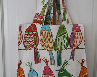Bird Reusable shopping bag