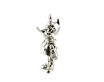 Sterling Silver Pinocchio Charm For Bracelets