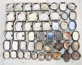 Vintage Watch Back Lids - set of 50 - c46