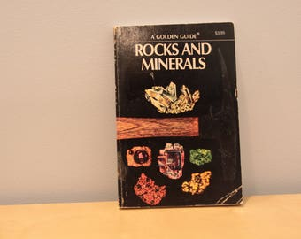 Vintage Golden Guide to Rocks and Minerals
