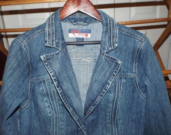 Vintage Denim Jean Jacket 1980s