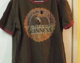 Lovely Day For a Guinness T-Shirt Vintage Hipster
