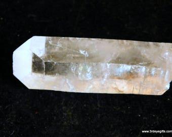 Quartz Crystal Wand, Clear Quartz, Quartz Wand, Crystal Wand, Energetic Healing, Master Healer, Quartz, Quartz Energy ~1343
